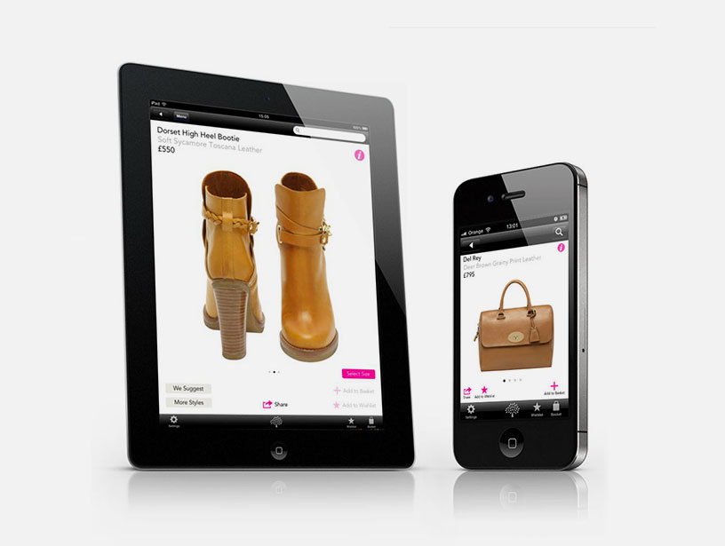 Mulberry's first iPad App - Steve Keane