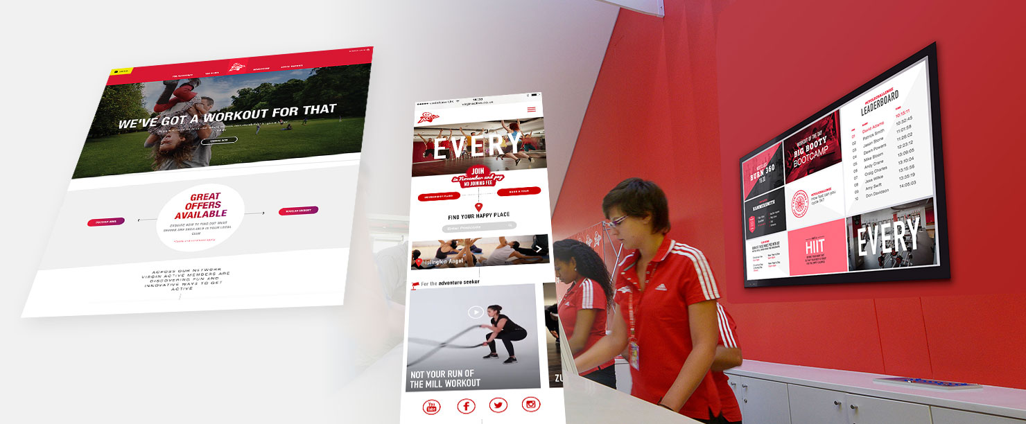 Virgin Active Website - Steve Keane